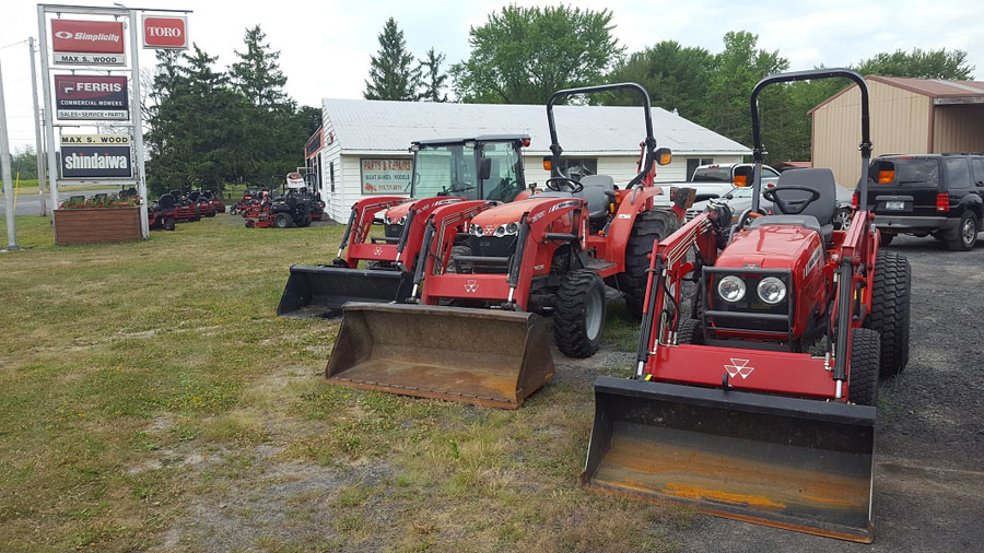 Bucket Loaders Ready to Go